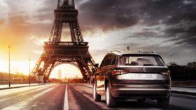 Skoda Kodiaq beim Pariser Autosalon