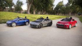 Die Spielzeugversion des Tesla Model S