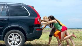anlasser-defekt-auto-anschieben-280x158 Defekten Anlasser erkennen und wechseln