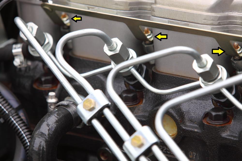 glühkerzen-am-motor Defekte Glühkerzen beim Diesel erkennen und wechseln