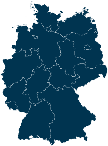 Bundesländer Map